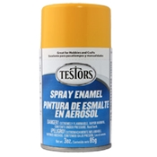 Testors 1214 Gloss Yellow Spray Enamel 3oz