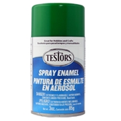 Testors 1224 Gloss Green Spray Enamel 3oz
