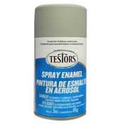 Testors 1226 Flat Dark Aircraft Gray Spray Enamel 3oz