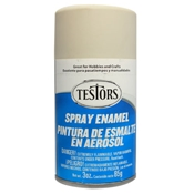 Testors 1233 Flat Light Aircraft Gray Spray Enamel 3oz