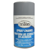 Testors 1238 Gloss Gray Spray Enamel 3oz