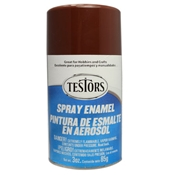 Testors 1240 3oz Spray Enamel - Gloss Brown