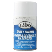 Testors 1245 Gloss White Spray Enamel 3oz