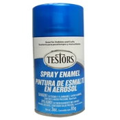 Testors 1257 Transparent Blue Spray Enamel 3oz