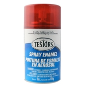 Testors 1605 Candy Apple Red Spray Enamel