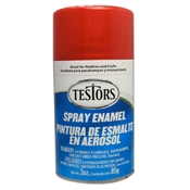 Testors 1607 Transparent Hot Rod Red Spray Enamel