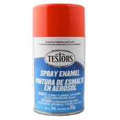 Testors 1628 Competition Orange Spray Enamel