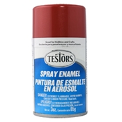 Testors 1629 Ruby Red Metallic Spray Enamel