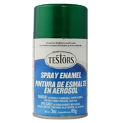 Testors 1630 Jade Green Metal Flake Spray Enamel