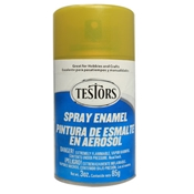 Testors 1642 Lime Gold Metallic Spray Enamel