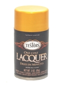 Testors One Coat Lacquer - Inca Gold