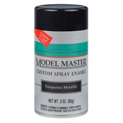 Model Masters 3oz Spray Enamel - Turquoise Metallic