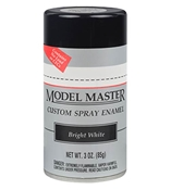 Testors Model Master Automotive Enamel Bright White Spray