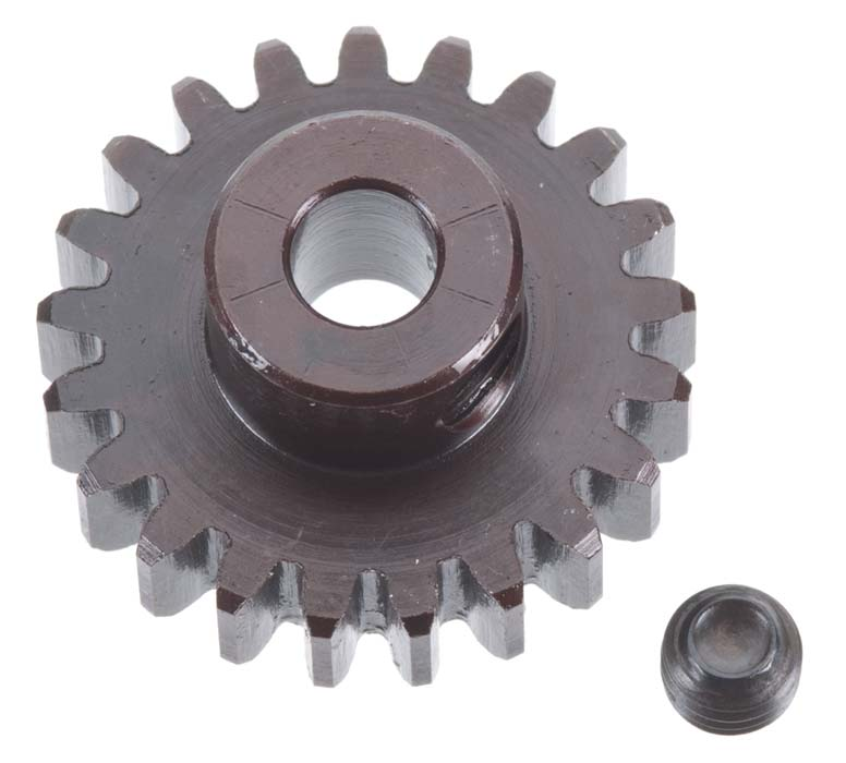 5MM BORE, MOD. 1 PINION 21 TOOTH