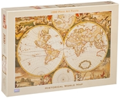 Historical Map Puzzle - 1000 pc