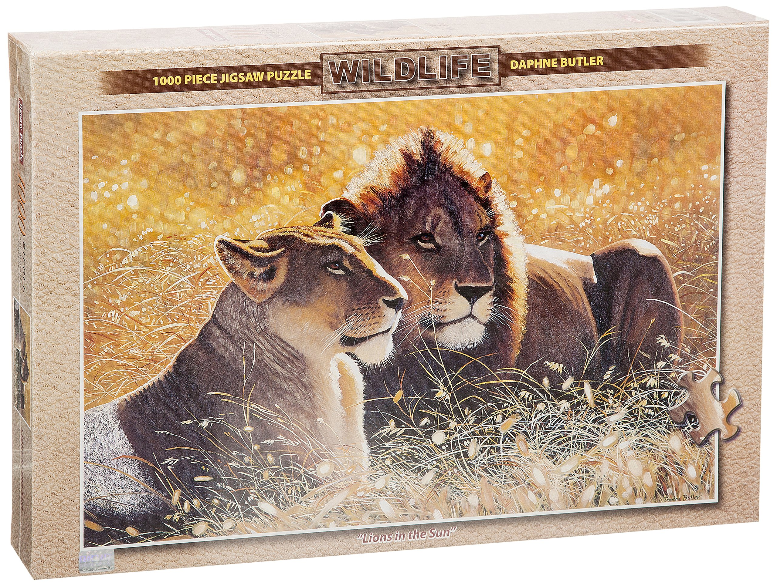Lions in the Sun Puzzle 1000pc