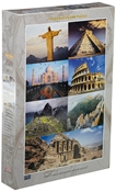 The 7 New Wonders of the World Puzzle 1500pc