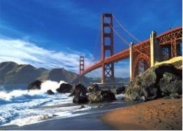 Golden Gate Bridge Puzzle
