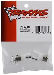 U Joints, 3mm Grug Screws: VillainE by Traxxas