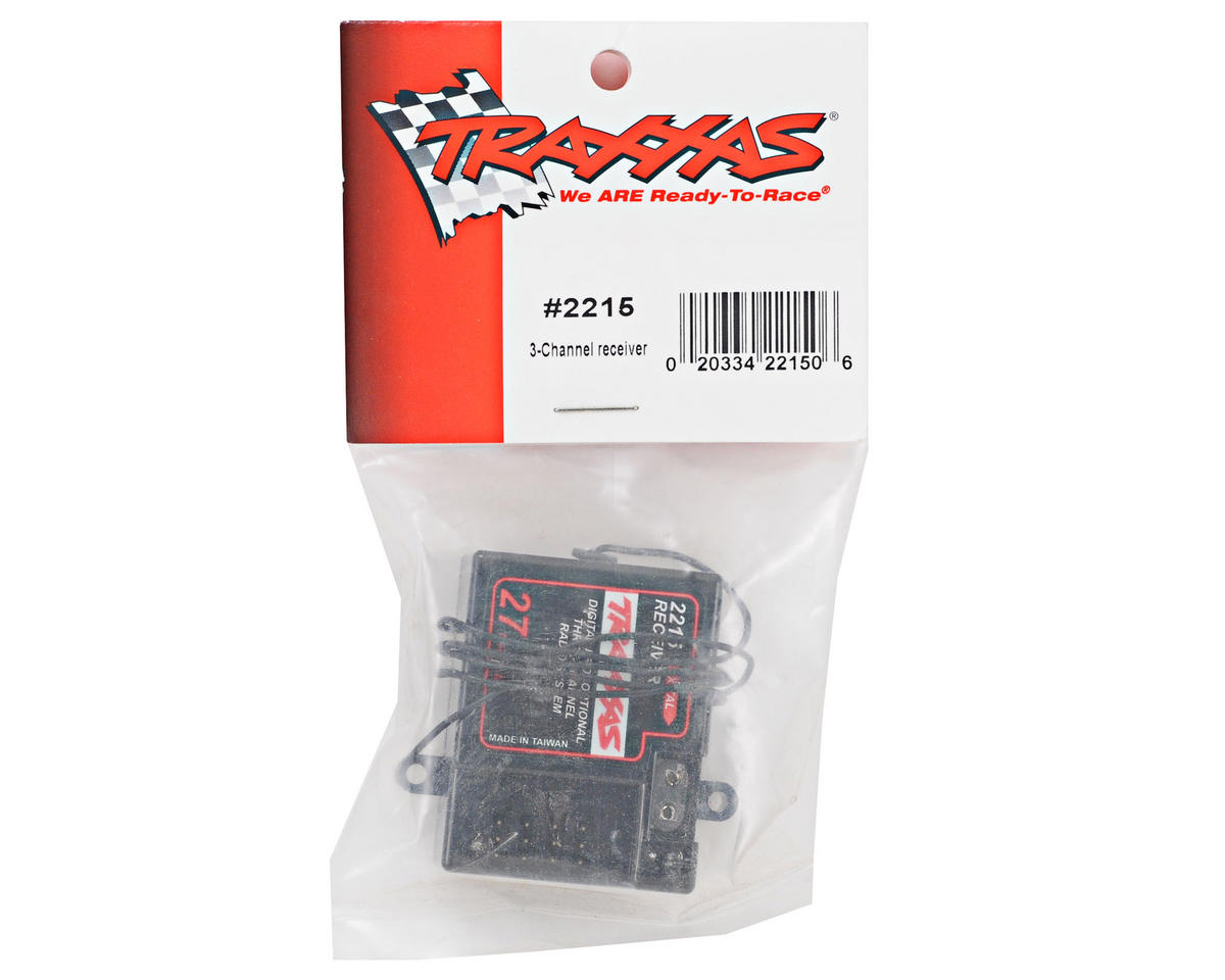 Traxxas 2215 3-Channel 27MHz Receiver - TRA2215