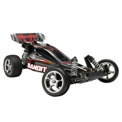 Traxxas 1/10 Bandit XL-5 Buggy TQ/Battery/Charger Black