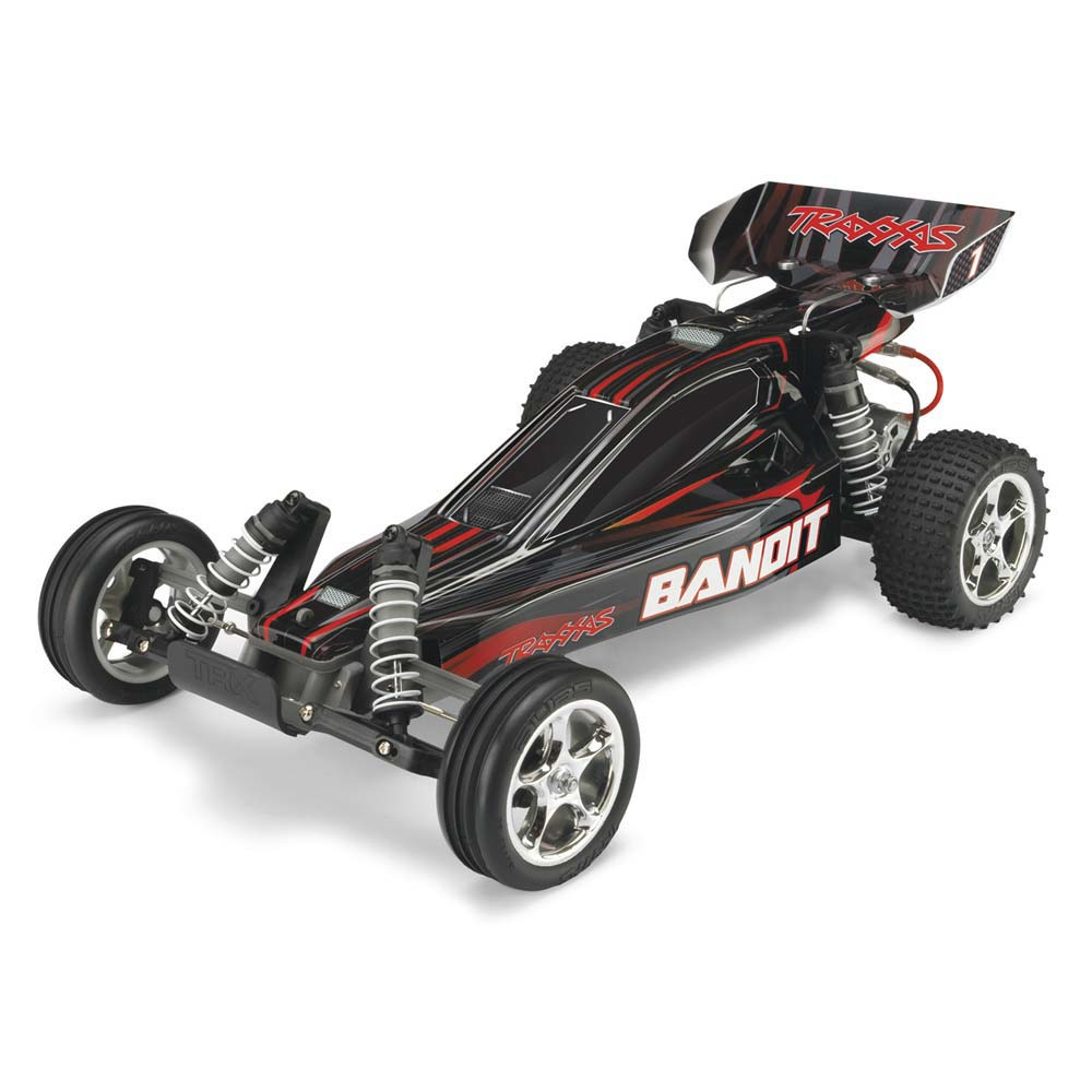 Traxxas 1/10 Bandit XL-5 Buggy TQ/Battery/Charger Black - TRA24054-1BLK