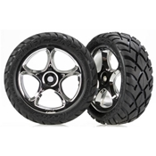 Traxxas 2479R Front Tracer 2.2 Wheels with Anaconda 2.2 Tires (2)