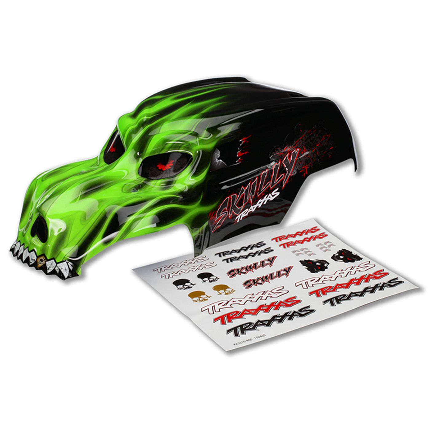 Green Skully Body with Decals