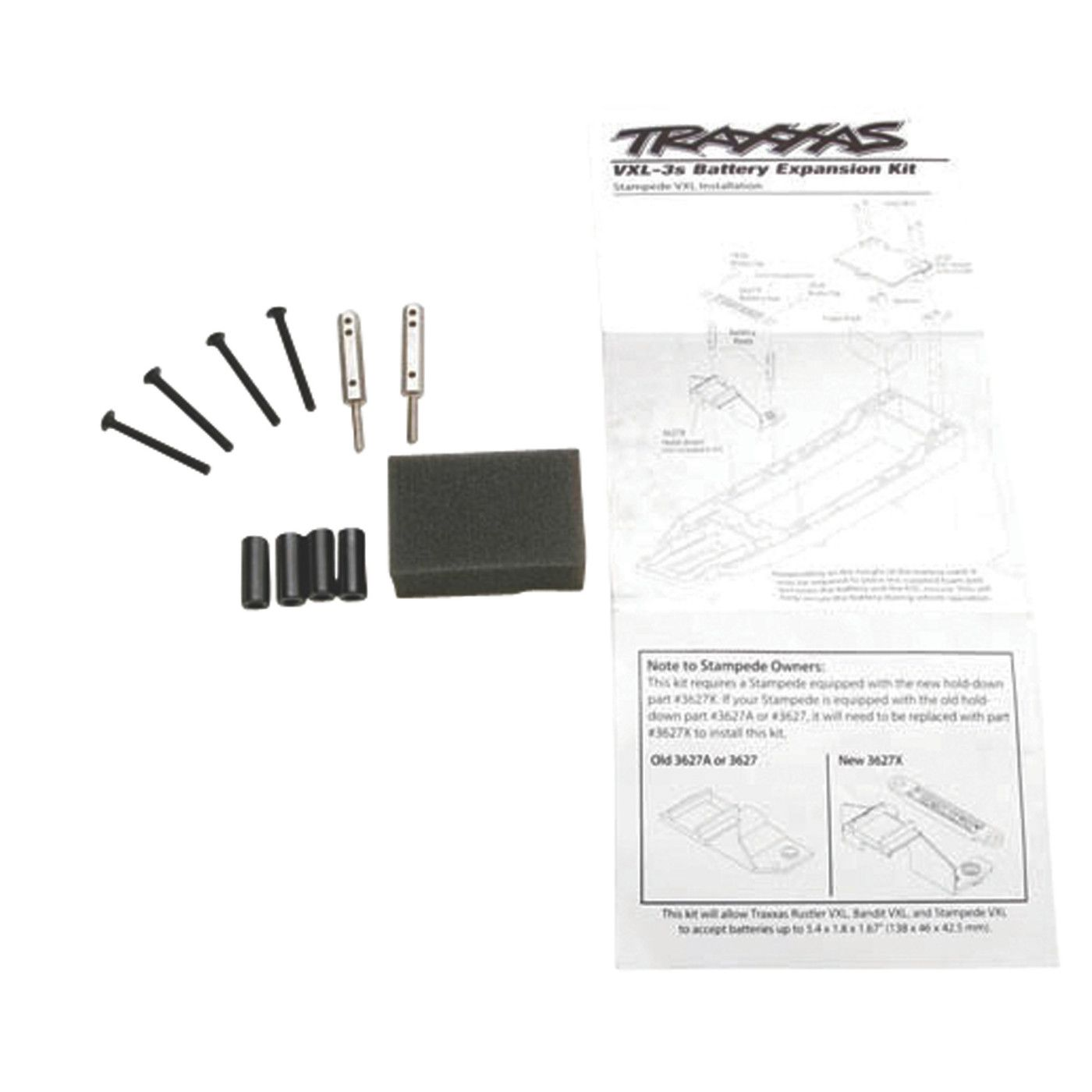 Traxxas 3725X Battery Expansion Kit