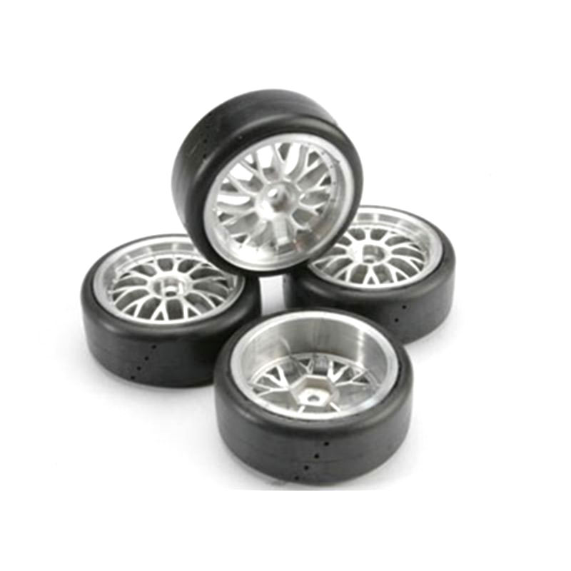 Traxxas 4873 Mounted Protrax Slick Tires (4)