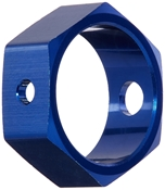 Brake Adapter, Hex Blue: TMX.15,2.5,3.3 by Traxxas