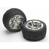 Assembled/Glued Rear Tires & Wheels: Jato