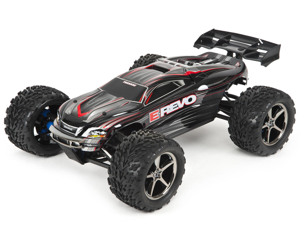E-Revo Brushless: 1/10 Scale 4WD Brushless Electric Racing Monster Truck with TQi 2.4GHz Traxxas Link Enabled Radio System and Traxxas Stability Management (TSM)