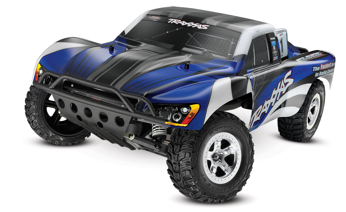 Traxxas Slash 1/10 2wd blue XL-5 RTR