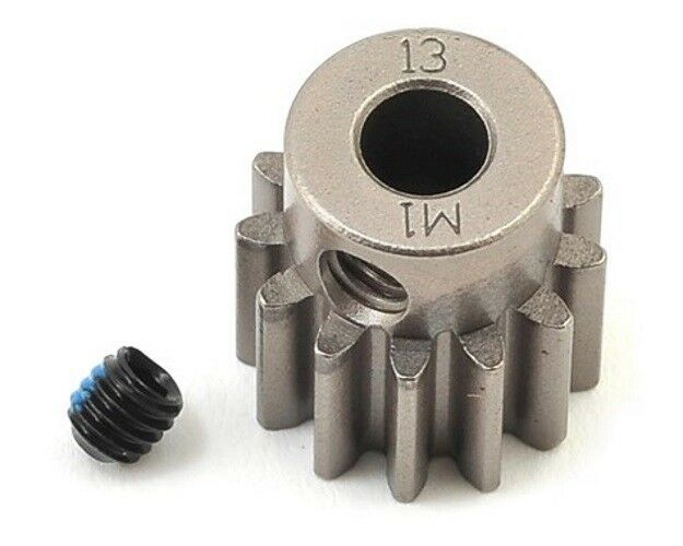 Gear, 13-T pinion 1.0 metric pitch fits 5mm shaft