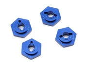 Traxxas 7154X Blue Aluminum Hex Wheel Hubs (4)