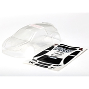 Traxxas 7511 LaTrax Rally Clear Body with Decal