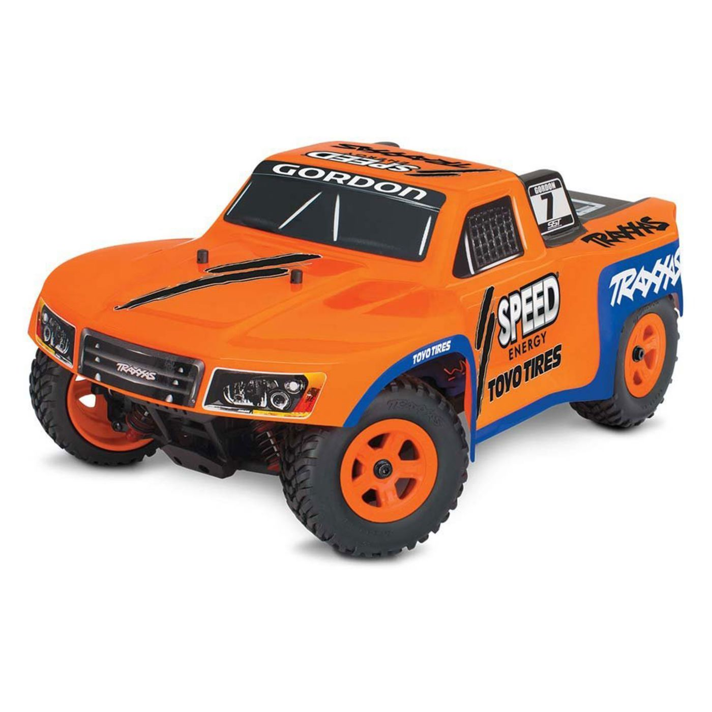 Traxxas 1/18 LaTrax SST RTR #7 Robby Gordon Orange