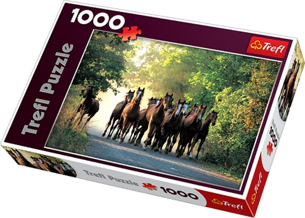 English Thoroughbred 1000pc Puzzle