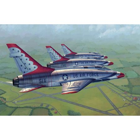 1/48 F-100D Thunderbirds USAF Aircraft