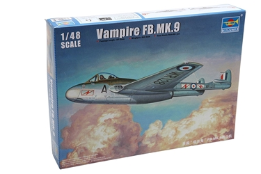 1/48 Vampire FB. Mk.9 British Fighter