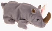 Ty Beanie Babies - Spike the Rhinoceros