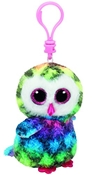 TY Beanie Boos - Owen the Multicolored Owl (Clip)