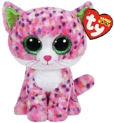 Beanie Boo - Sophie Speckled Pink Cat (Small)