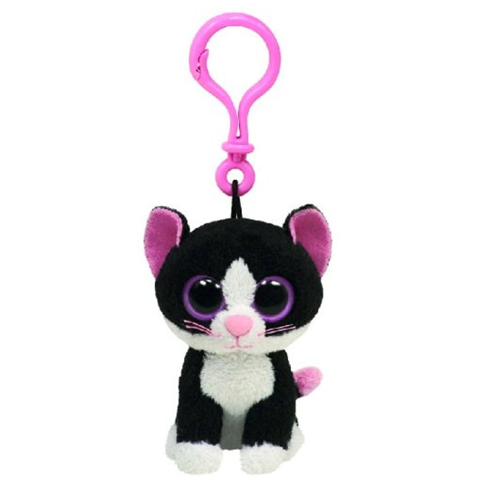 Ty Beanie Clip - Pepper - Cat