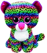 TY Beanie Boos - Dotty the Multicolored Leopard (Jumbo)