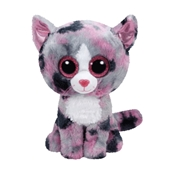 TY Beanie Boos - Lindi The Pink Cat (Medium)