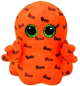 TY Beanie Boos - Ghoulie the Orange Ghost (Medium)