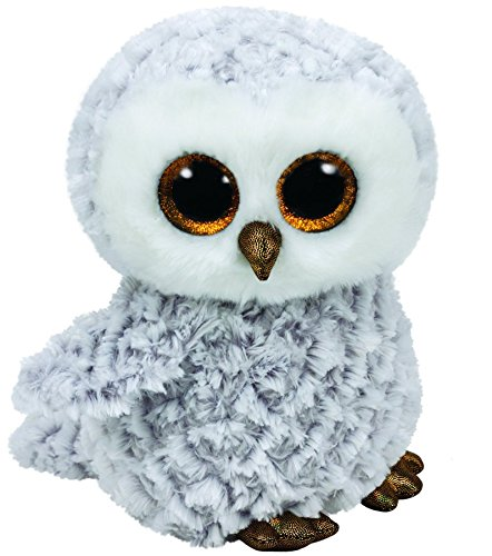 TY Beanie Boos - Owlette the White Owl (Medium)
