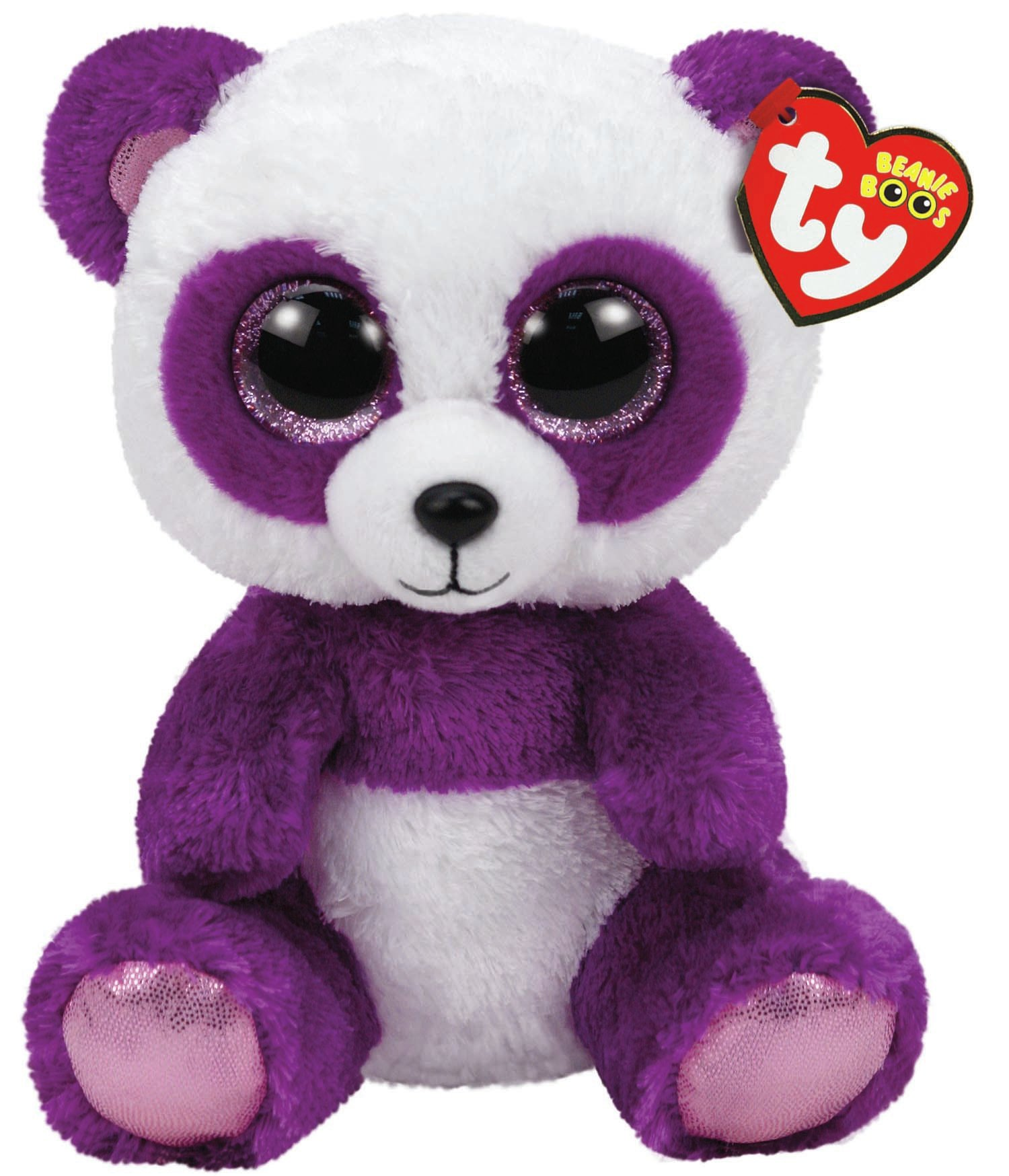 TY Beanie Boos - Boom Boom the Panda (Medium)